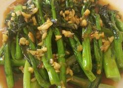 蒜蓉油菜花