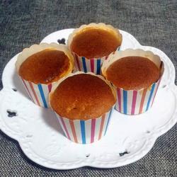 蜂蜜纸杯蛋糕