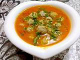 番茄丸子汤的做法[图]