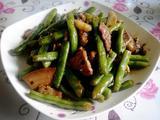 四季豆烧猪肉的做法[图]