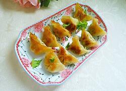 煎饺(胡萝卜芹菜猪肉馅)