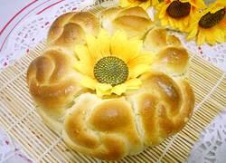 玫瑰花乳酪面包