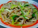 韭黄炒肉丝的做法[图]