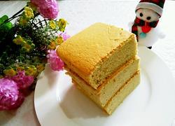 芝麻粉戚风蛋糕