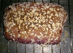 哈康面包(紫薯枣米软欧)