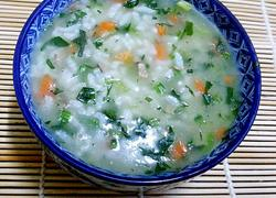 胡萝卜菠菜鸡肝粥