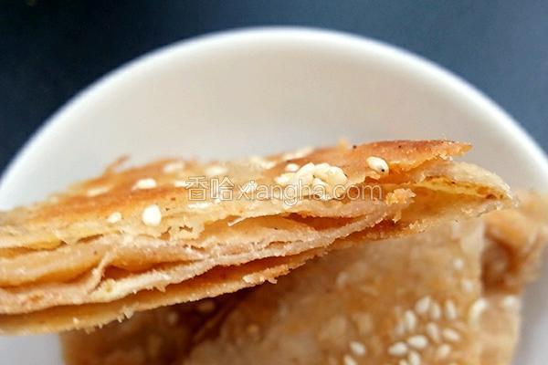 五香芝麻酱酥脆饼