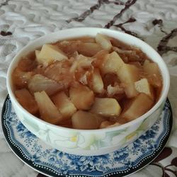 红糖苹果银耳汤的做法[图]