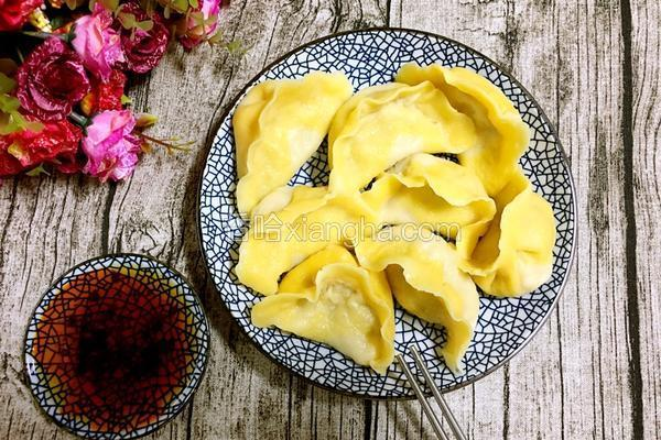 圆白菜猪肉水饺