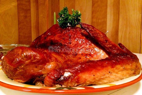 香烤全火鸡