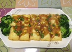 猪肉香菇酿豆腐