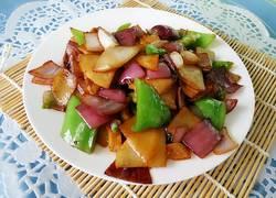 清炒三鲜菜