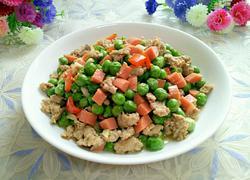 豌豆炒火腿