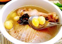 川芎白果煲鸡汤
