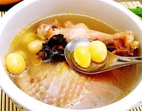 川芎白果煲鸡汤[图]