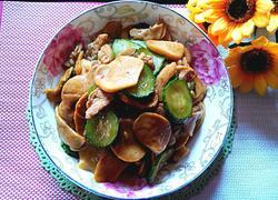 黄瓜杏鲍菇炒肉