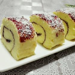 蓝莓蛋糕卷的做法[图]