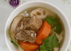排骨莲藕汤