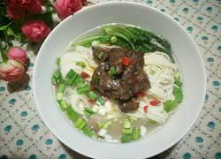鲜牛肉汤面
