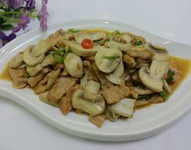 蘑菇炒肉片[图]