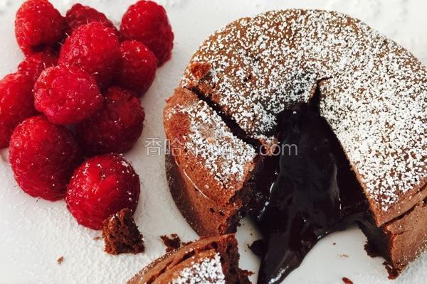 巧克力熔岩蛋糕(心太软)
