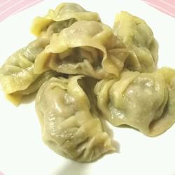 驴肉芹菜蒸饺
