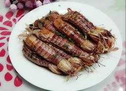 姜葱炒濑尿虾