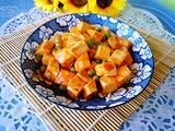 番茄豌豆烧豆腐的做法[图]
