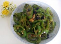豆豉炒辣椒圈