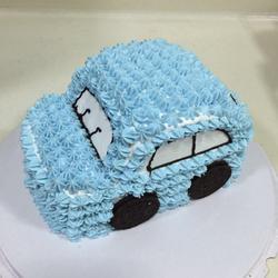 汽车奶油蛋糕