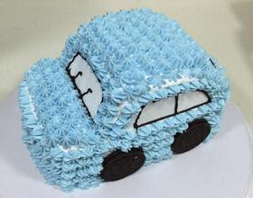 汽车奶油蛋糕[图]