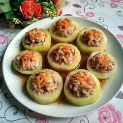瘦肉香菇酿节瓜