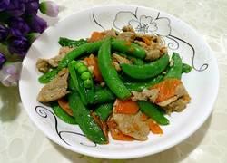 甜蜜豆炒肉