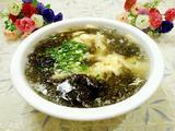 紫菜虾皮蛋花汤的做法[图]
