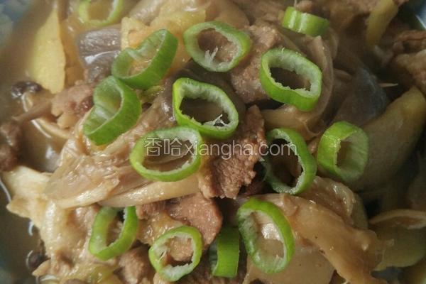 蘑菇小炒肉