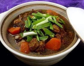 羊肉炖胡萝卜
