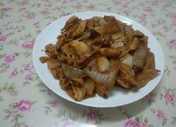 洋葱炒大肠