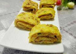 南瓜丝鸡蛋饼