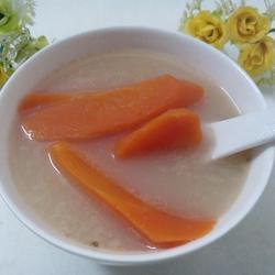 白芍红萝卜鲫鱼汤