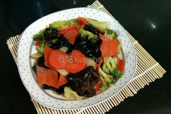 山药木耳蔬菜