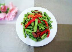腊肉小炒四季豆
