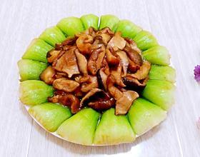 香菇炒油菜[图]