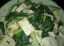 菠菜豆腐菜