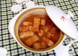 茶香砂锅腐乳肉
