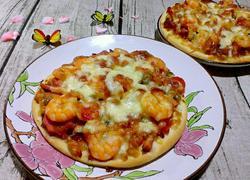 虾仁小披萨