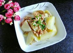 土豆烧油面筋
