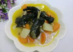 山药胡萝卜炖乌鸡