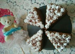 6寸巧克力戚风蛋糕