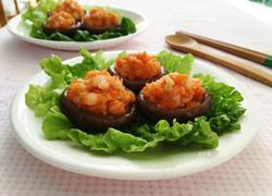 鲜虾香菇盏