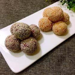 番薯球(大红大紫)